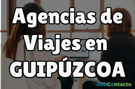Agencias de viajes en Guipúzcoa