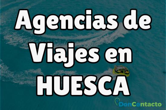 Agencias de viajes en Huesca