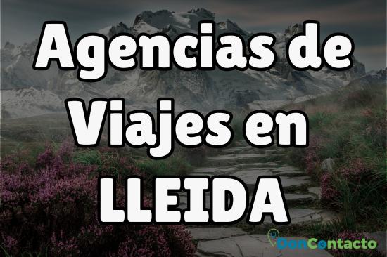 Agencias de Viajes en Lleida