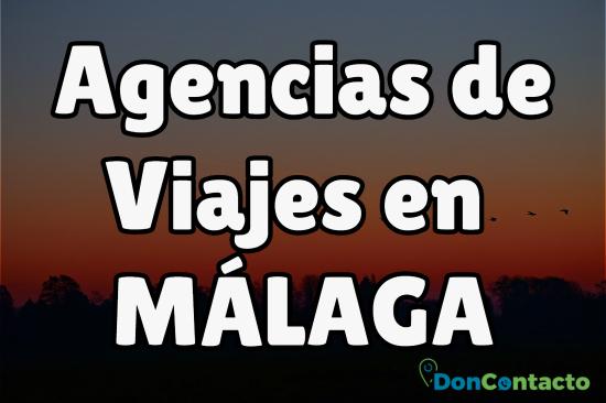 Agencias de Viajes en Málaga