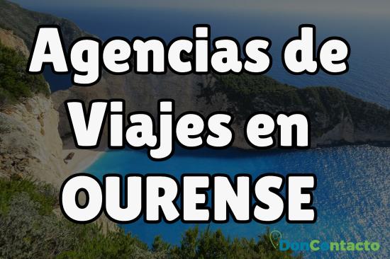 Agencias de Viajes en Ourense