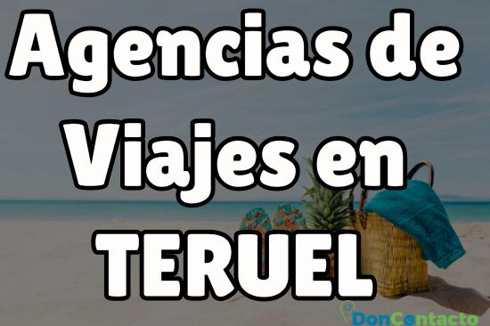 Agencias de viajes en Teruel
