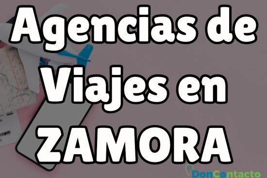 Agencias de viajes en Zamora