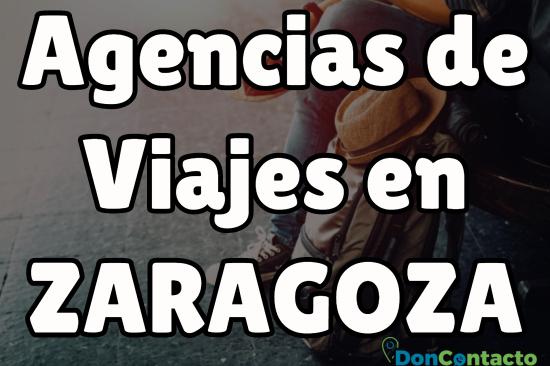 Agencias de viajes en Zaragoza