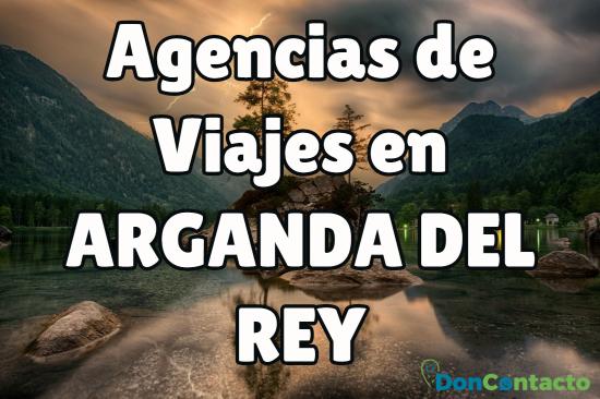 Agencias de Viajes en Arganda del Rey