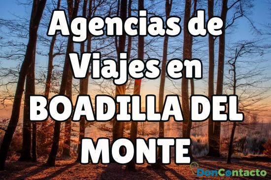 Agencias de Viajes en Boadilla del Monte