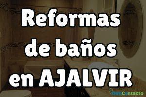 Reformas de baños en Ajalvir