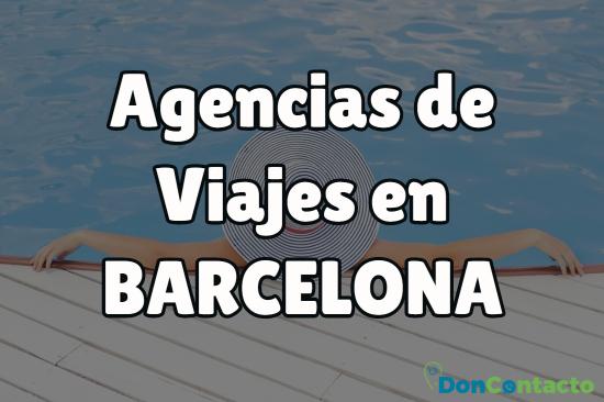 Agencias de viajes en Barcelona