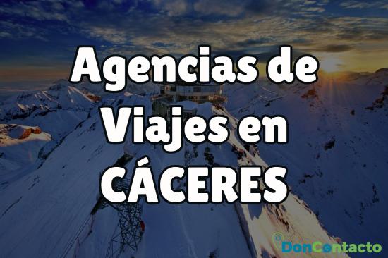 Agencias de viajes en Cáceres