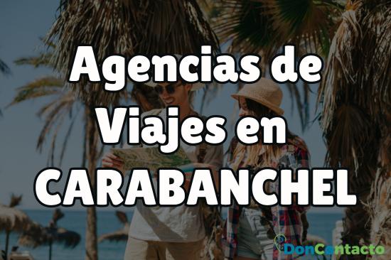 Agencias de viajes en Carabanchel