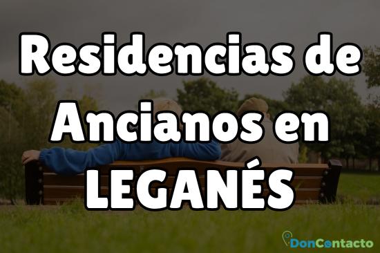 residencias de ancianos en Leganés