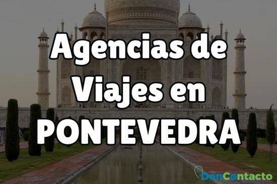 Agencias de viajes en Pontevedra