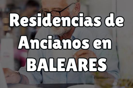Residencia de Ancianos en Baleares