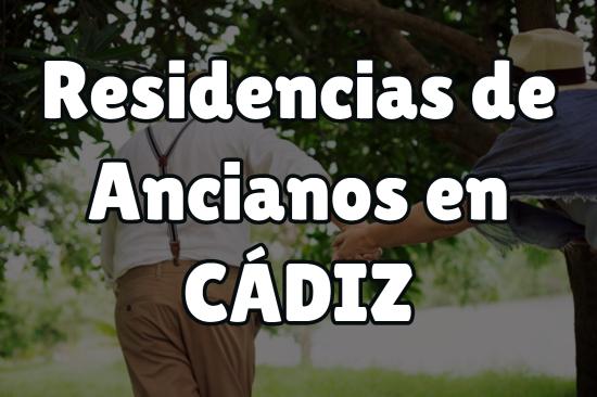 Residencia de Ancianos en Cádiz