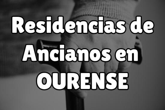 Residencia de Ancianos en Ourense