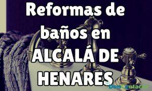 Reformas de baños en Alcalá de Henares