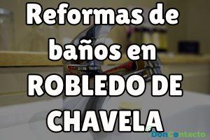 Reformas de baños en Robledo de Chavela
