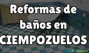 Reformas de baños en Ciempozuelos