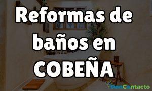 Reformas de baños en Cobeña