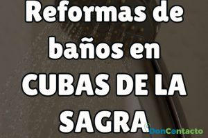 Reformas de baños en Cubas de la Sagra