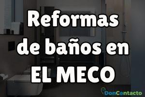 Reformas de baños en El Meco