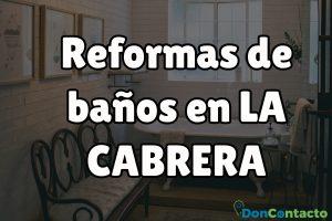Reformas de baños en La Cabrera