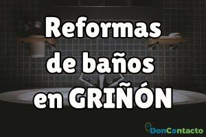 Reformas de baños en Griñón