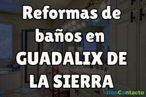 Reformas de baños en Guadalix de la Sierra