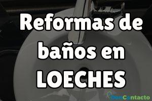 Reformas de baños en Loeches