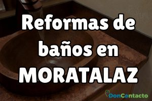 Reformas de baños en Moratalaz