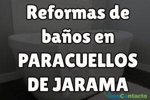 Reformas de baños en Paracuellos de Jarama