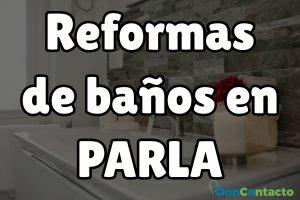 Reformas de baños en Parla