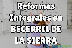 Reformas integrales en Becerril de la Sierra