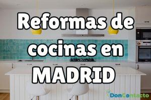 Reformas de cocinas en Madrid