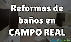 Reformas de baños en Campo Real