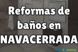 Reformas de baños en Navacerrada