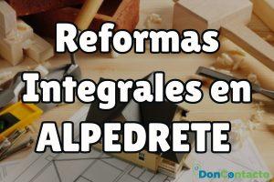 Reformas integrales en Alpedrete
