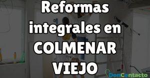 Reformas integrales en Colmenar Viejo