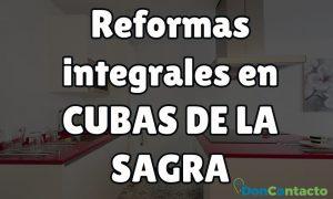 Reformas integrales en Cubas de la Sagra