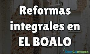 Reformas integrales en El Boalo