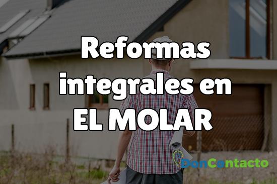Reformas integrales en El Molar