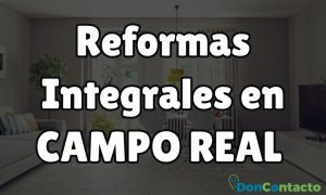 Reformas integrales en Campo Real
