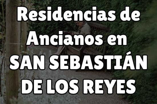 Residencia de Ancianos en San Sebastián de los Reyes