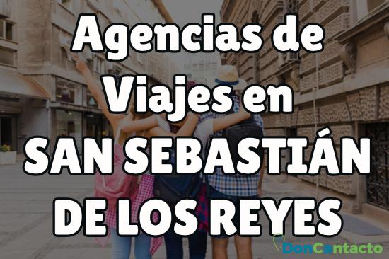 Agencias de viajes en San Sebastián de los Reyes
