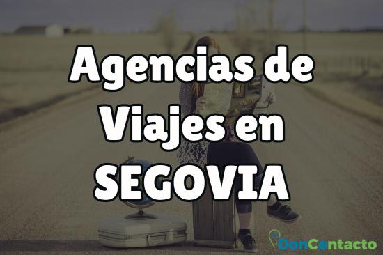 Agencias de viajes en Segovia