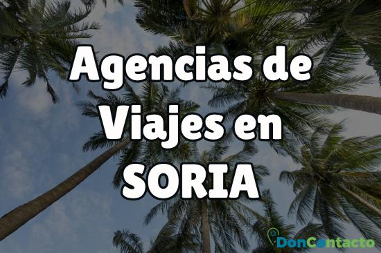 Agencias de viajes en Soria