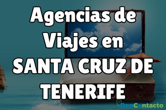 Agencias de viajes en Santa Cruz de Tenerife