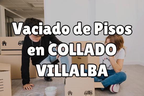 Vaciado de pisos en Collado Villalba