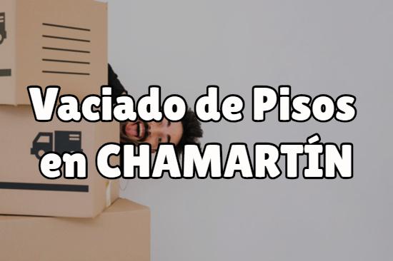 Vaciado de pisos en Chamartín