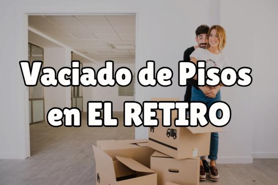 Vaciados de pisos en el Retiro